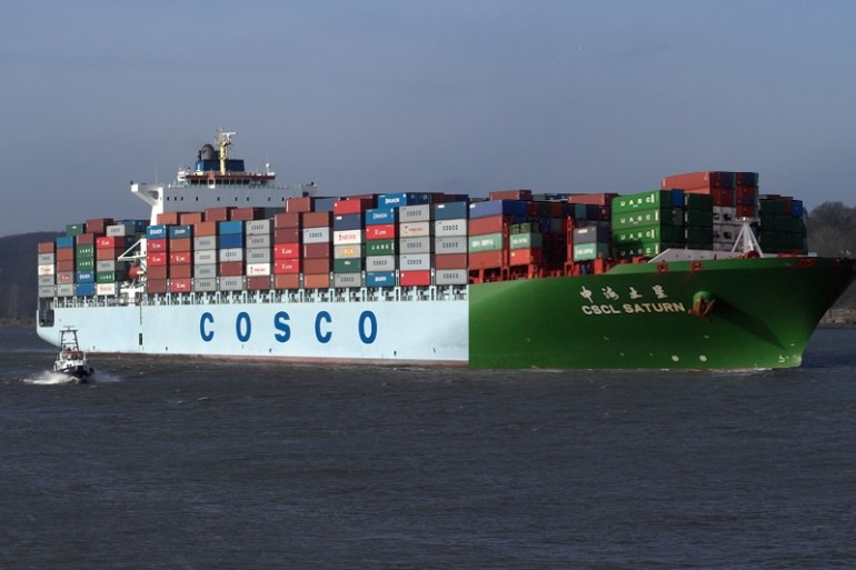 China Approves Merger of Cosco